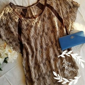 💖🥀Free People oversized top!⚘💖